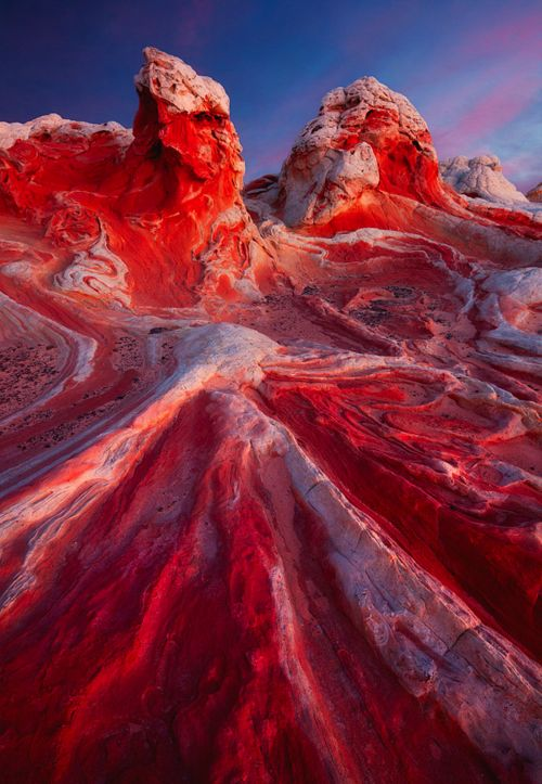 White Pocket, in the Vermilion Cliffs National Monument of northern #Arizona.