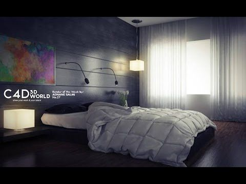 Cinema 4d tutorial : vray lighting, render settings and post production
