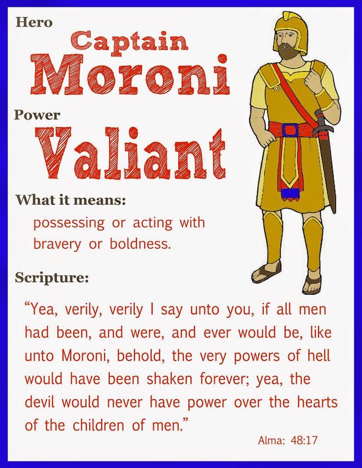 Scripture Heroes Captain Moroni