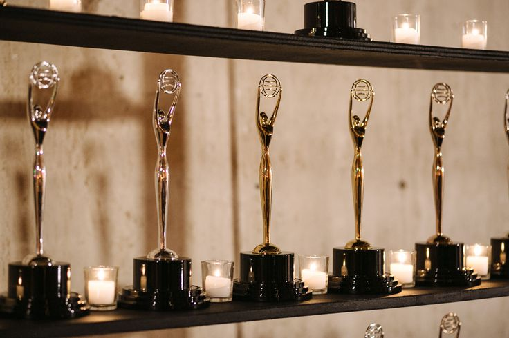 The Clio trophy wall. See more photos of the 2014 Clio Awards at Clios.com: http://clios.com/photos-2014-clio-awards/773