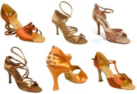 Купить танцевальные туфли для латино американских танцев