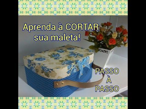 Maleta Simples Cartonagem - YouTube