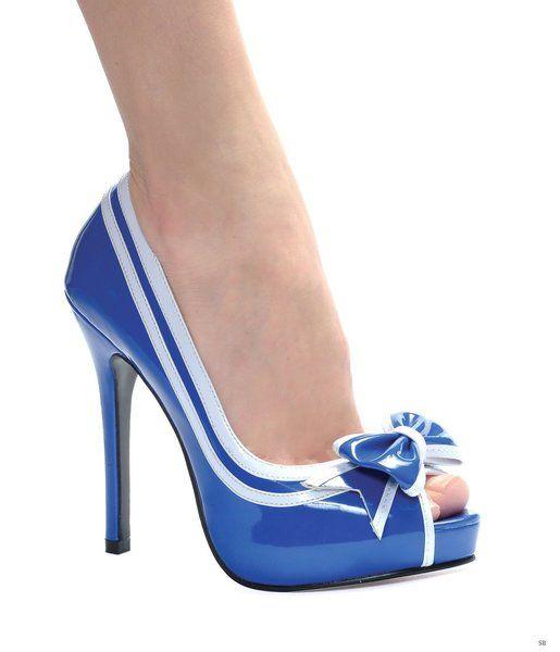 Sailor Girl Siren Peep Toe Shoes �54.99