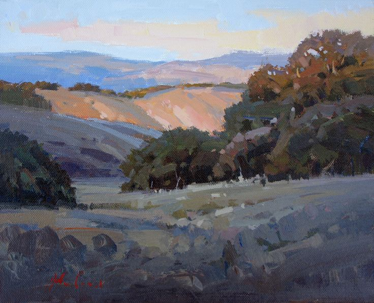 Evening in the Foothills, by John Poon