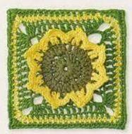 Patrón #1244: Granny a Crochet | CTejidas [Crochet y Dos Agujas]
