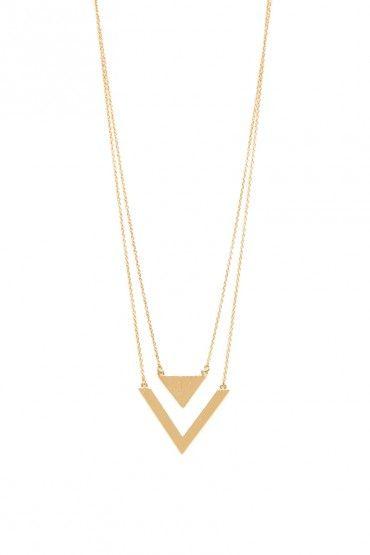 GOLD arrow Necklace