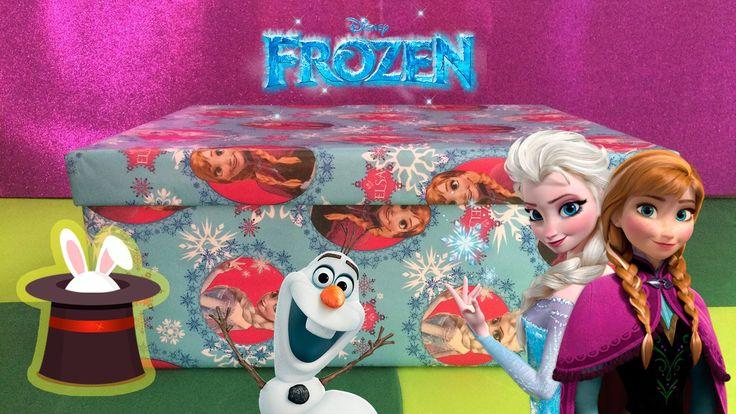 Caja Sorpresa De Frozen - Juguetes De Frozen