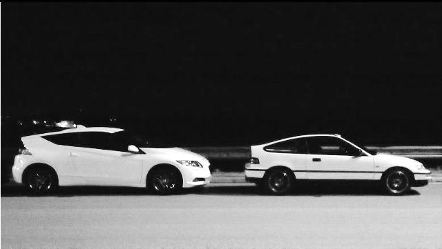 Honda crz and Honda crx