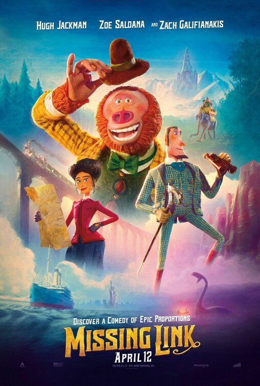 How & where you can watch Missing Link full movie online free on your Mobile and Computer