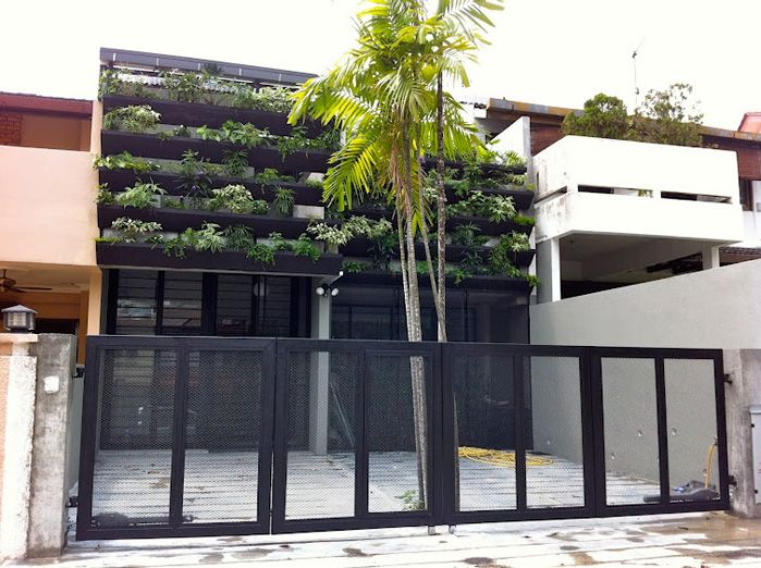 Terasek 7 bangsar architecture pinterest lifestyle for House facade renovation ideas