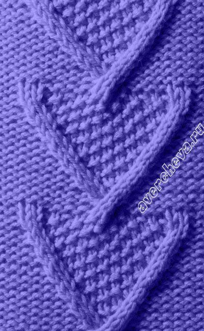 Free Finger Knitting Patterns : 1012 best images about Knitting stitch pattern on Pinterest Ribs, Knit patt...