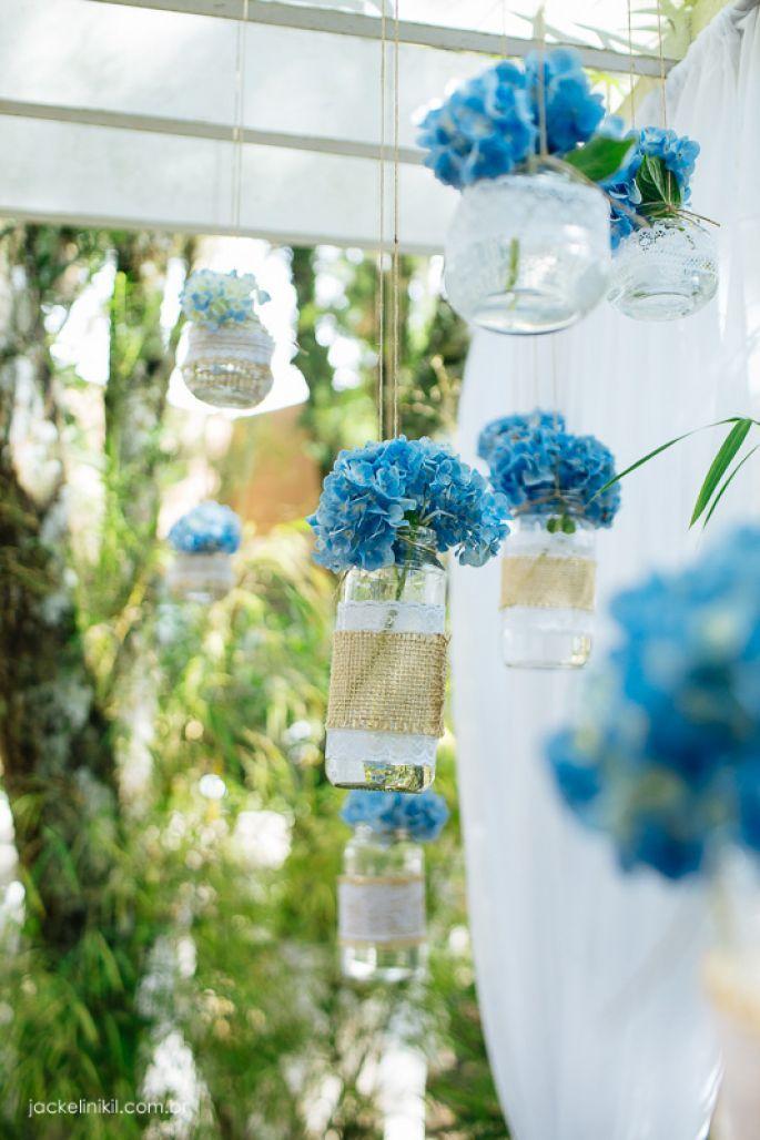 Casamento ao ar livre de Ana e Fernando: decoração DIY rústica em Curitiba