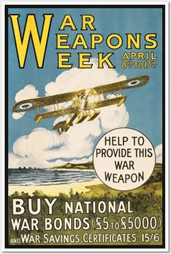 War Weapons Week poster- courtesy AWM