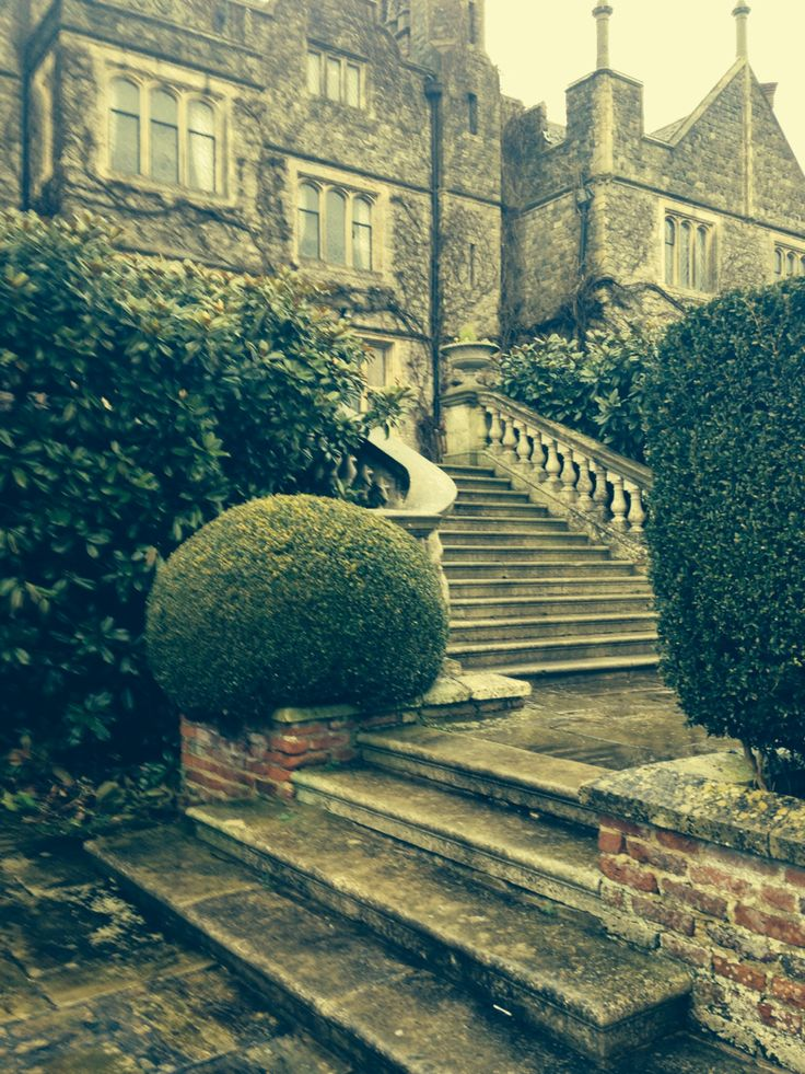 Stairs at Eastwell Manor - so grand