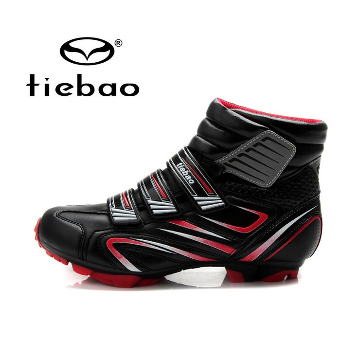 TIEBAO Professional Bicycling Cycling Shoes Men Women MTB Mountain Bike Racing Shoes Windproof Athletic Self-Locking Ankle Boots - Mountain Bikes For Sale
