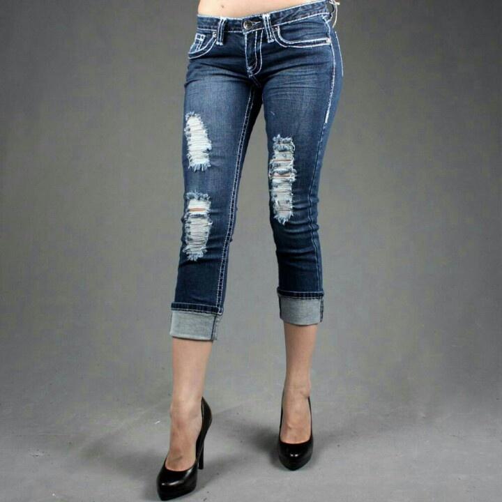 19 best crop jeans Capris images on Pinterest
