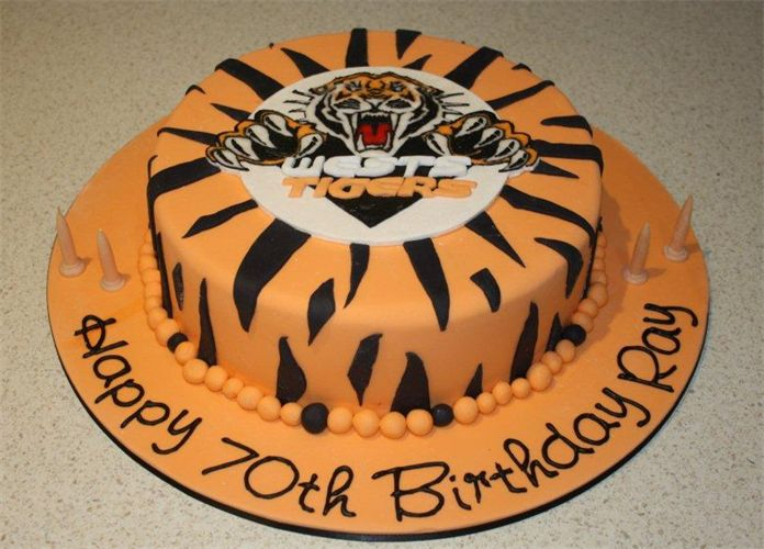 Cake Decorating Classes Central West Nsw : 59 best WESTS TIGERS images on Pinterest Tigers ...