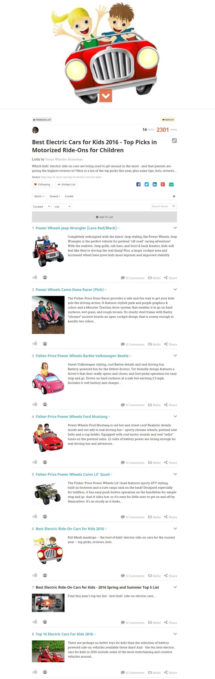 best electric cars for kids 2016 top picks in motorized ride ons for children