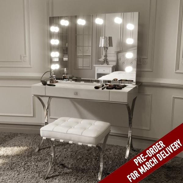 Www Danycase Com Big Vanity Mirror With Light Hollywood Makeup Lighted Mirror 3 Color Light Cosmeti Wall Mounted Lighted Makeup Mirror Makeup Mirror With Lights