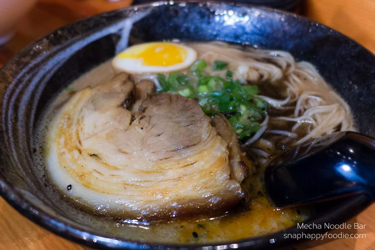 Tonkotsu from Mecha Noodle Bar in Fairfield, CT