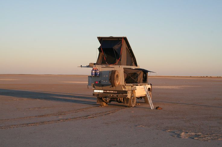 You can really feel alone in Africa - Alu-Cab, Botswana