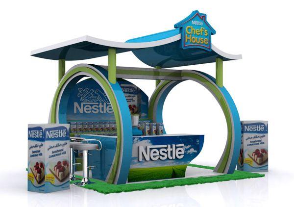 Nestle Chef House on Behance