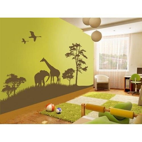 159 best room decor-nature themed bedroom wall art images on ...