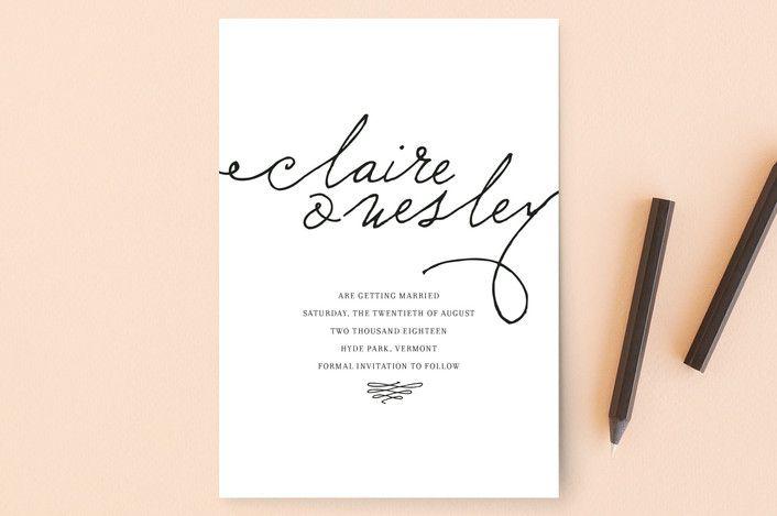 Love Letter\ - Formal Invitation Letters