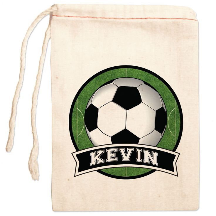 Soccer Birthday Party Favor Bags Soccer Party от ShopPsychobaby