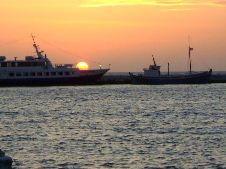 #picturesque #sunset # Mykonos