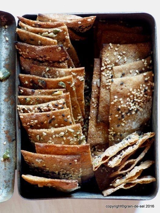 grain de sel - salzkorn: Knusperknusperknäuschen - Knäckebrot