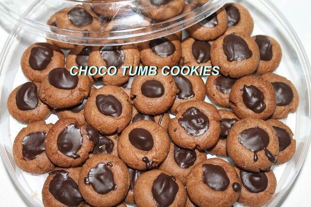 Choco tumb cookies