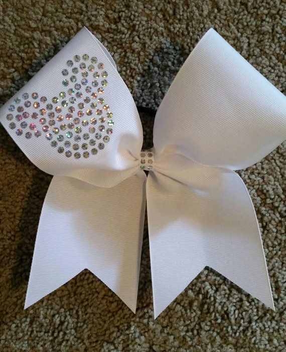 Cheer bow Disney by CurlyNoodleCreations on Etsy