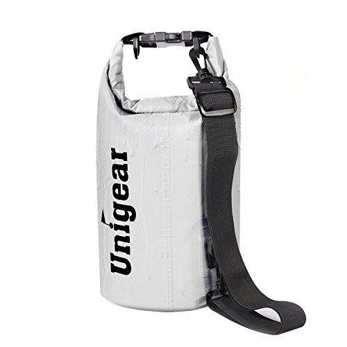 Unigear Sacs Imperméables/Sacs Etanches pour Activités de Plein Air et Sports Aquatiques Camping Nautique Kayak Pêche (5 Types de Taille)…