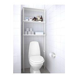 "DYNAN Open storage, white - 27 1/2x7 7/8x74 3/8 "" - IKEA i like this one better than the urban cheaper too (its the storage above the toilet)"