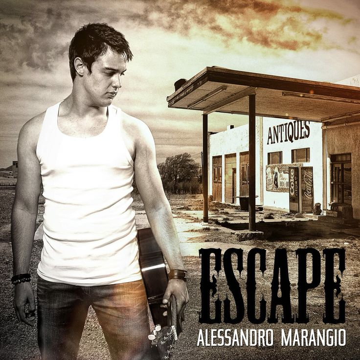 Escape the new brand single by Alessandro Marangio.