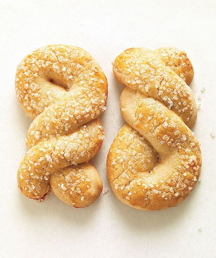 Sparkling Sugar Twist | No nuts allowed? These kid-friendly baked treats pass the test.