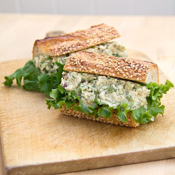 tuna-salad...this may be my new go-to tuna salad recipe along with the zesty one I like from Taste of Home...I replaced half of the mayo with greek yogurt