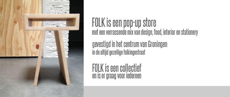 FOLK beschikt over een flinke tafel in een mooie ruimte. Schenkt goeie koffie & thee en kent wel een paar verantwoorde recepten voor een lekker baksel erbij. Prima voorwaarden voor een workshop, dachten we. Heb jij iets te vertellen over food, duurzaamheid, fotografie, bloggen, interieur of ken je een paar goeie zelfmakers die je met publiek wil delen? Meld je dan bij ons om een workshop te geven. Folkingestraat 19, Groningen