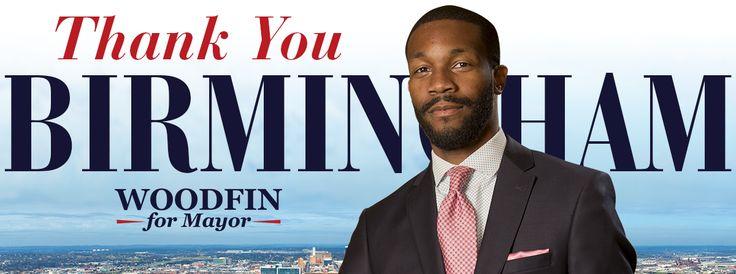 Randall L. Woodfin is excited to lead a movement of progressive ideas and energy for all 99 neighborhoods of Birmingham. Join him in a new era of growth & prosp