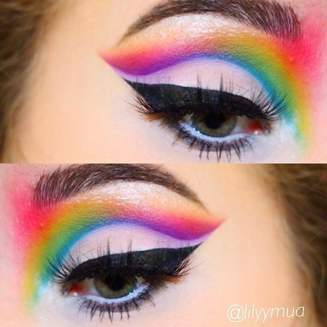 Pinterest inspired look - I'm thankful everyday for Pinterest and amazing artists who come up with incredible looks 🎨  Products -  @morphebrushes - 35b palette for all eyeshadows and morphe brushes  @stilacosmetics - Black liquid eyeliner  @luxylash - Homegirl lashes (code LILY for 20% off)  @benefitcosmetics @benefitaustralia - Ka brow in 04  @beccacosmetics - Pearl highlighter  #makeup #makeupartist #brows #lashes #eyeshadow #eyeliner #makeupaddict #morphe #morphebrushes #glam #jaclynhill…