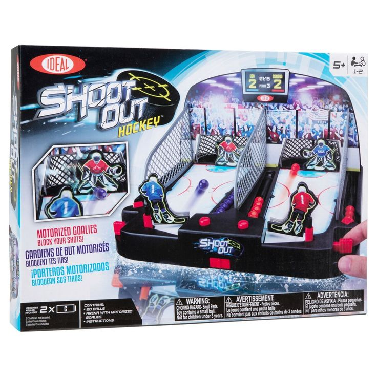 Ideal Motorized Shoot-Out Hockey Table Game