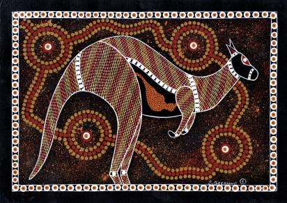 Adelaide - Aboriginal Art.  Tandanya National Aboriginal Cultural Institute
