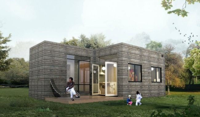 The Vancouver Is A 30 X16 Tiny Vacation Residence From Cubist Engineering Lake Cottage Tiny House Palm Harbor Homes