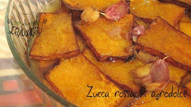 Zucca Rossa in Agrodolce - Cucinare Chiacchierando