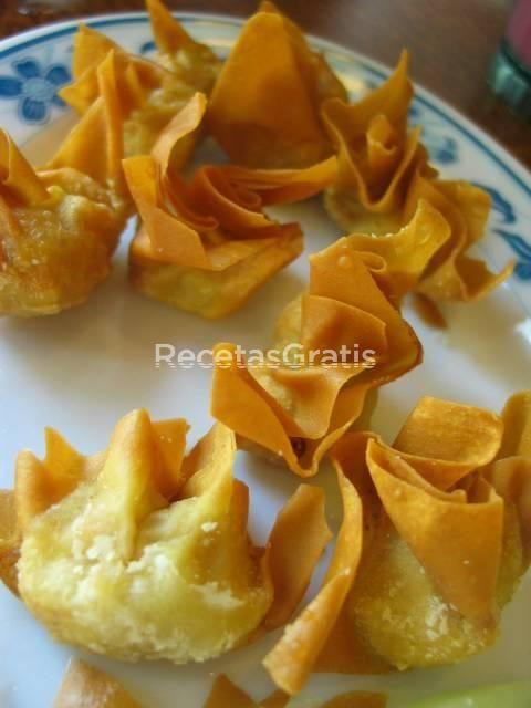 Receta de Wan tan (aperitivo chino) MmMMm!