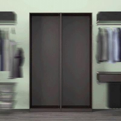 Dulapurile de haine #PAX te ajută să-ţi păstrezi hainele în ordine, pentru a vedea imediat ce opţiuni ai.  În perioada 30.01 - 26.03.2017, te bucuri de până la 20% reducere la sistemele de depozitare PAX și ALGOT. Oferta este valabilă în limita stocului disponibil și doar pentru membrii IKEA FAMILY.