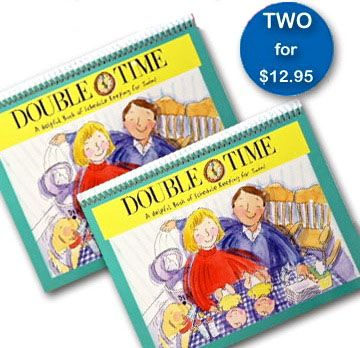 Double Time-Twins Schedule Book <BR> BUY ONE, GET ONE FREE!