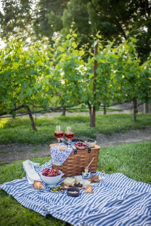 My Happy Place Is A Wine Country Picnic In Napa.