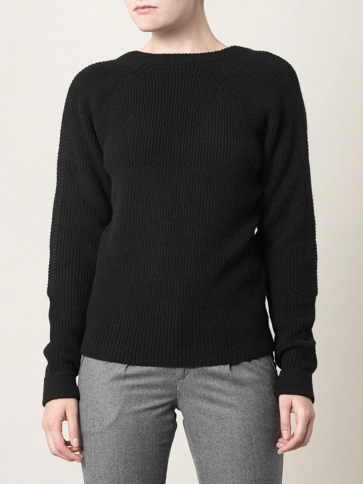 Balenciaga scoop back sweater